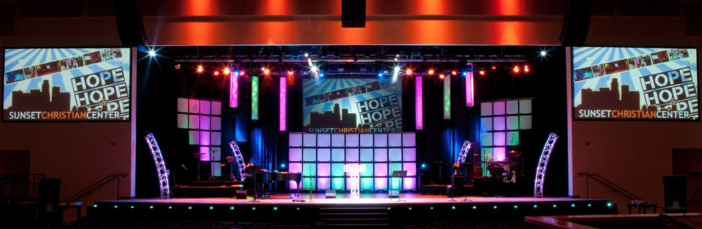 Complete Guide To Church Stage Lighting